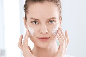 Caring for blemish-prone skin