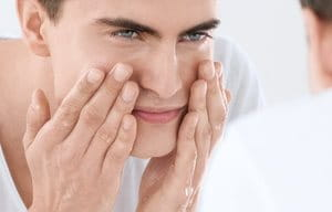 1. The first step in an acne skincare routine: cleansing