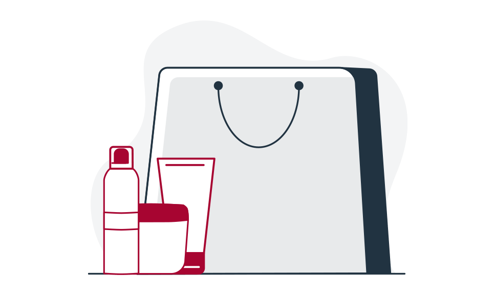 Eucerin Order and Payment Help Illustration