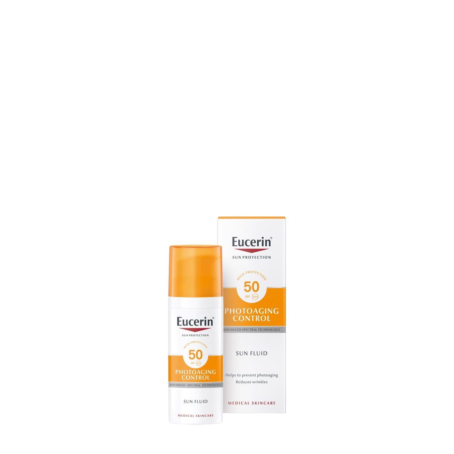 Eucerin Sun Fluid Photoaging Control SPF50