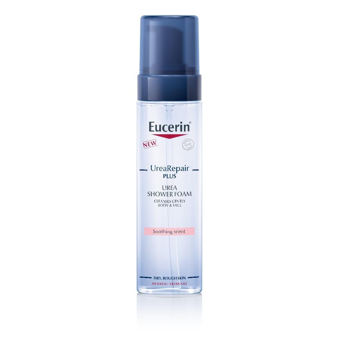 Shower foam for dry skin from Eucerin