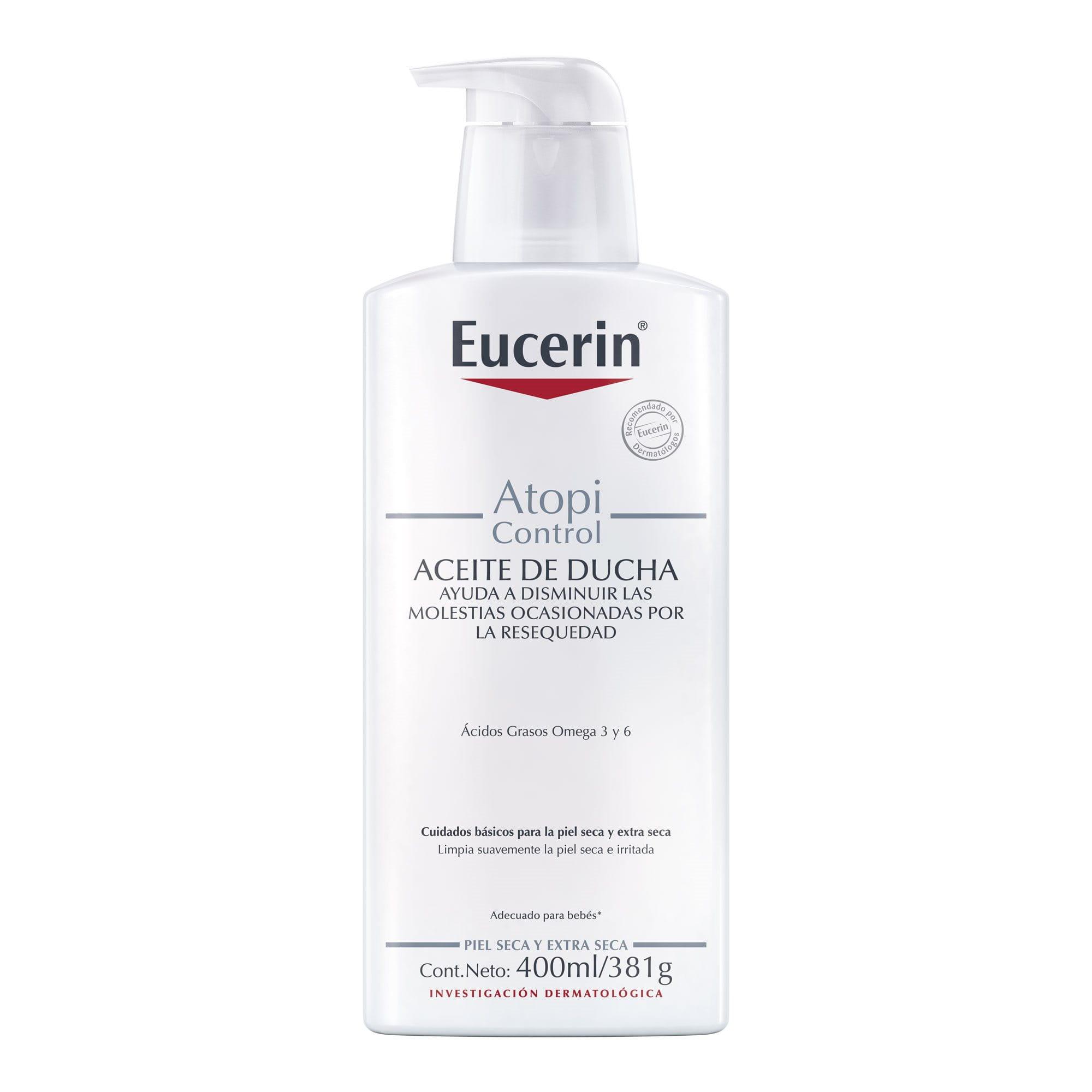 Aceite de baño para el eczema