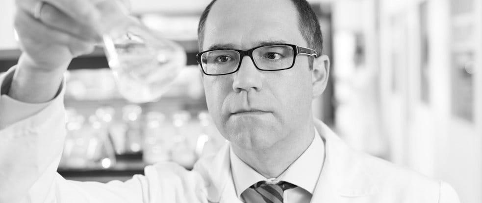 Dr. Rainer Wolber, Leiter Forschung und Entwicklung Eucerin