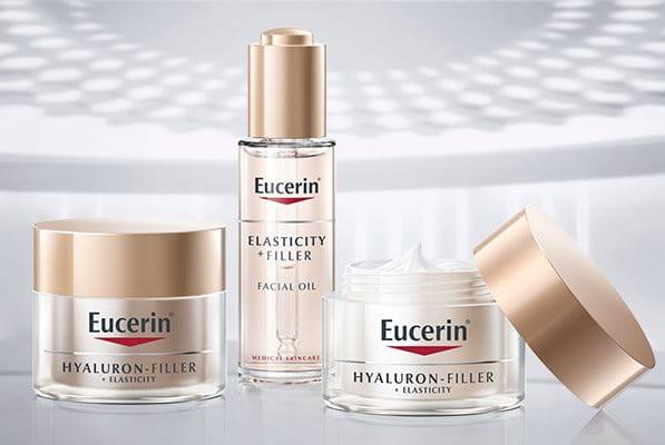 Eucerin Elasticity Filler Range for anti-aging