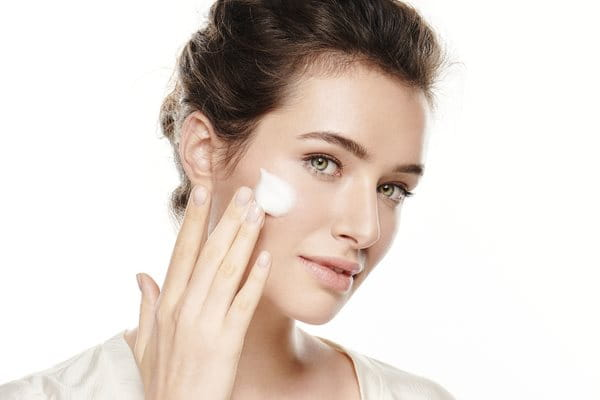 Step 1 Cleansing using Dermatoclean Cleansing Milk