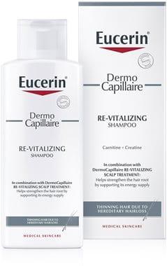 Eucerin DermoCapillaire Revitalizirajući šampon za tanku kosu