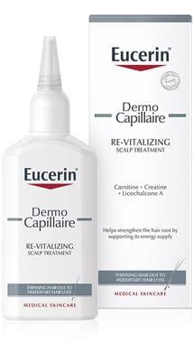 Eucerin DermoCapillaire revitalizirajući tretman za kosu protiv stanjivanja kose.