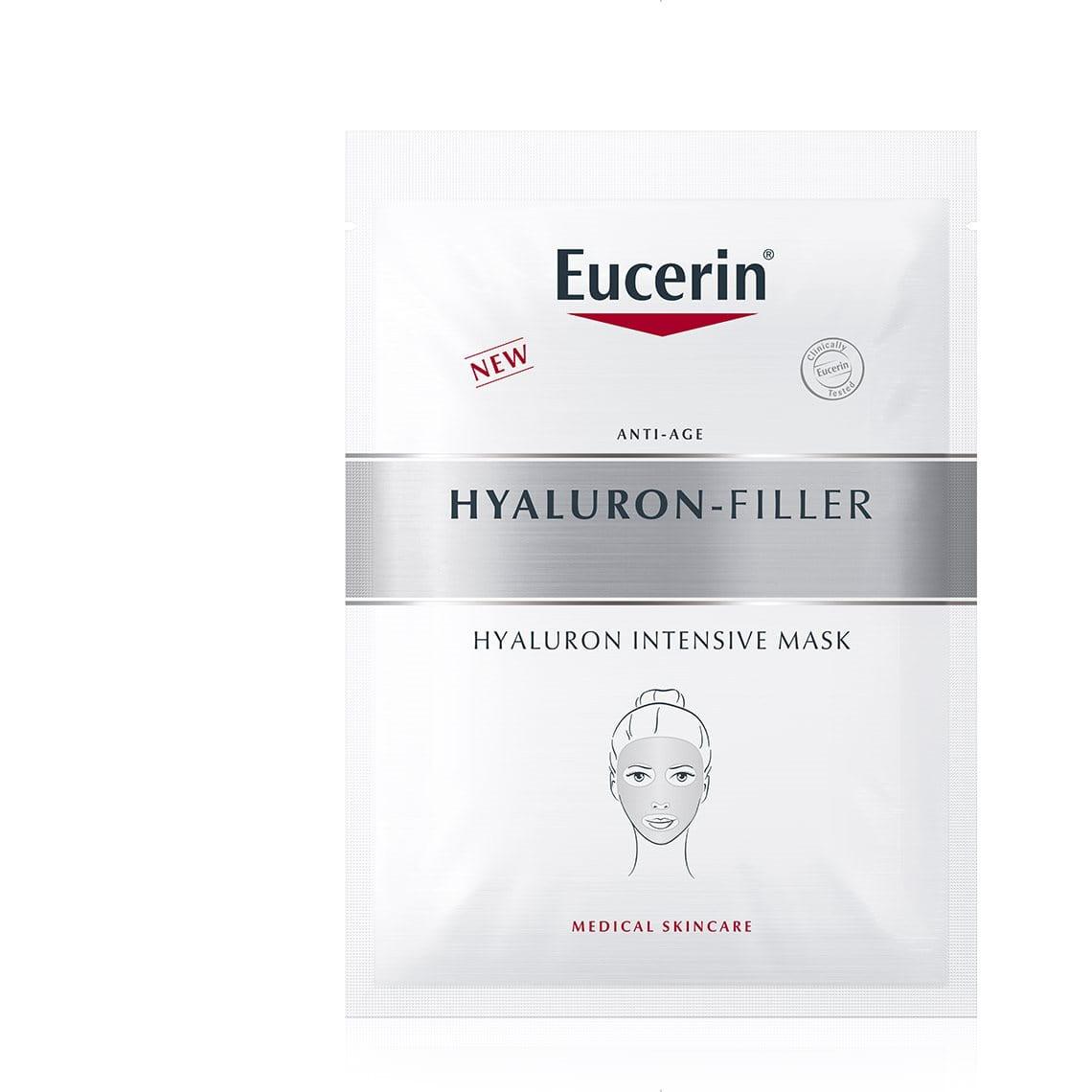 Veido kaukė nuo raukšlių iš Eucerin