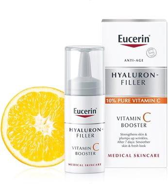 Cuidado com a pele com vitamina C de Eucerin