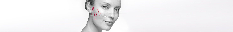 Kvinna med överkänslig hud