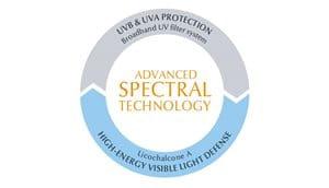 Sauļošanās līdzeklis bērniem ar uzlabota spektra tehnoloģiju