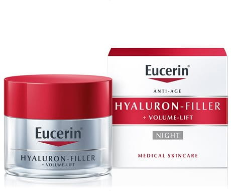 Eucerin Hyaluron-Filler + Volume-Lift Noćna krema za sve tipove kože