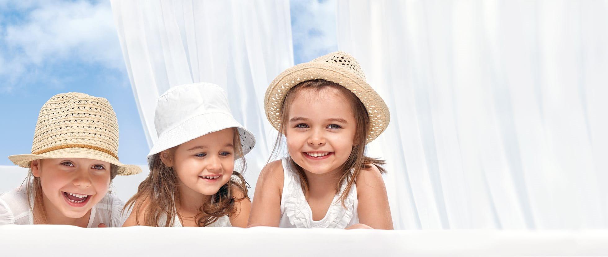 Висока сънчева защита за деца