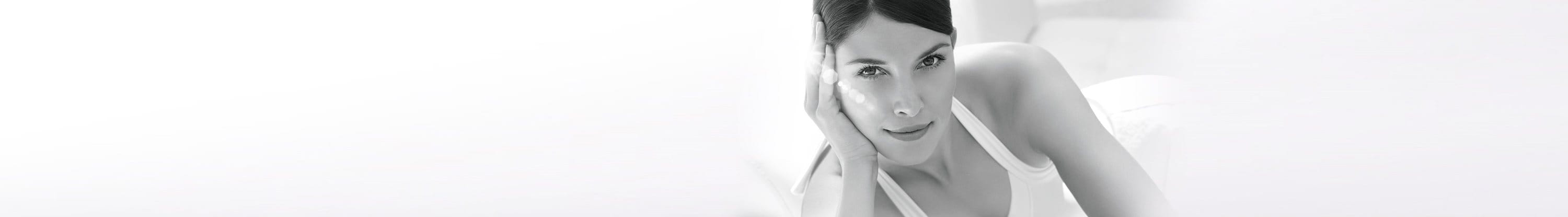 Woman using Eucerin products