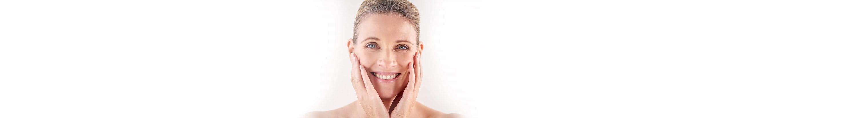 Hautalterung im Gesicht einer Frau