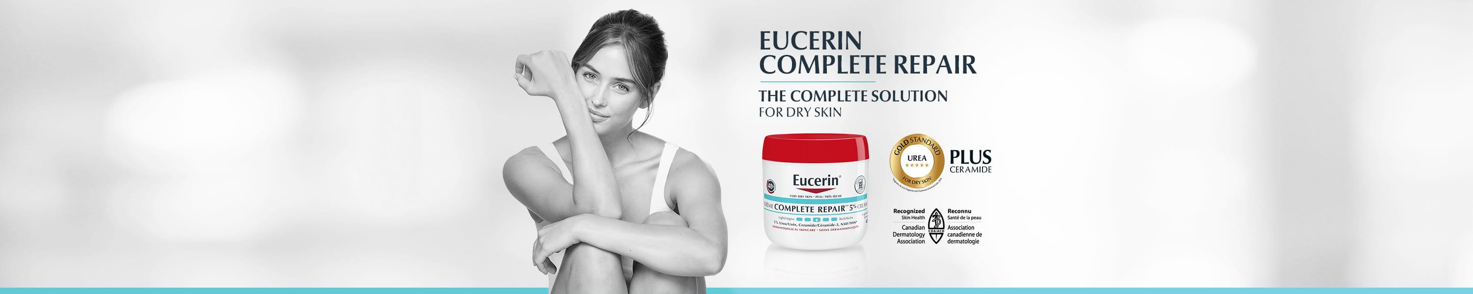Eucerin Complete Repair - the complete solution for dry skin