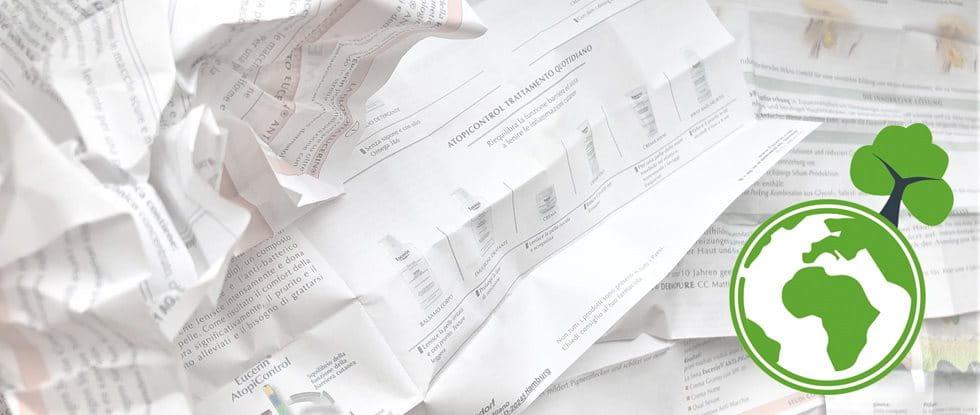 Eucerin Papier Sparen