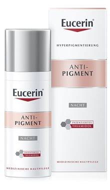Eucerin Anti-Pigment Nachtpflege, Nachtcreme gegen Pigmentflecken