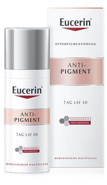 Eucerin Anti-Pigment Tagespflege LSF 30, Tagescreme gegen Pigmentflecken