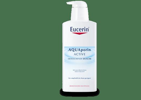 Зволожуючий та освіжаючий гель для душу  Eucerin AQUAporin ACTIVE