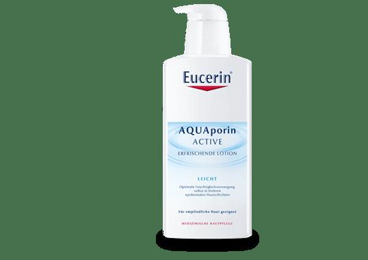 Легкий зволожуючий гель-лосьйон для тіла Eucerin AQUAporin ACTIVE