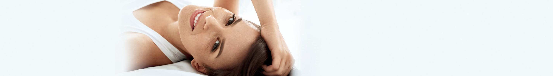 Frau mit dünnem Haar
