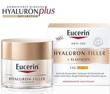 Eucerin HYALURON-FILLER + ELASTICITY Tagespflege LSF 30