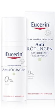 Creme für empfindliche Haut mit LSF 25