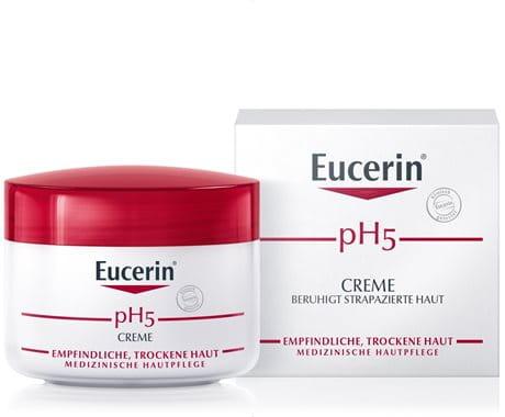 Creme für empfindliche, trockene Haut