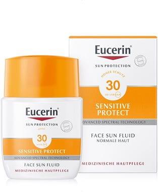 Eucerin Sonnenfluid für empfindliche Gesichtshaut