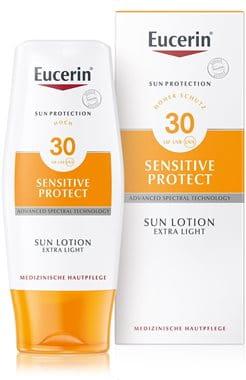Eucerin Sonnenschutz Lotion für trockene Haut