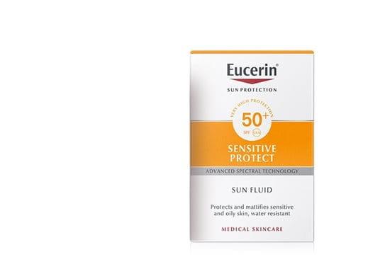 Eucerin Sun Fluid para piel normal y grasa
