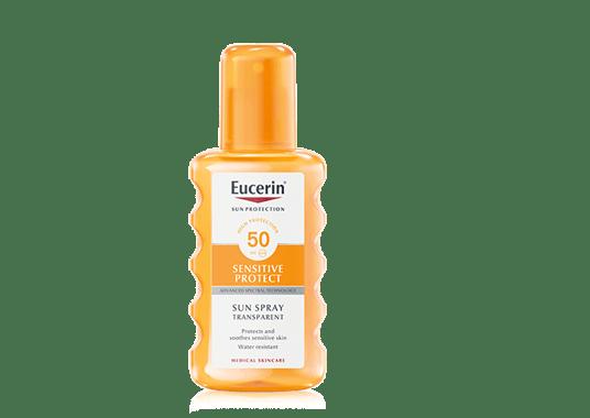 Protector solar en spray FPS 50 de Eucerin