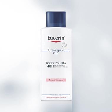 Loción corporal hidratante para piel seca de Eucerin