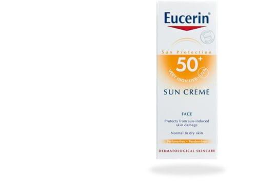 Eucerin Sun Creme SK 50+ -aurinkovoide