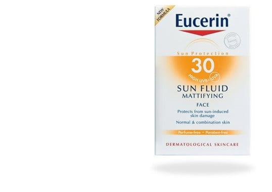 Eucerin Sun Fluid Mattifying SK 30 -aurinkovoide