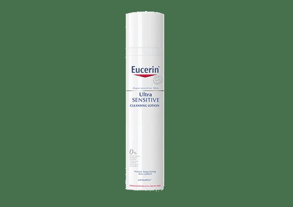 Ultrasensitive Cleansing Fluid Hypersensitive Skin Eucerin