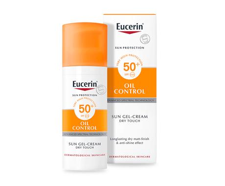 Packshot of Eucerin Sun Oil Control Gel SPF50