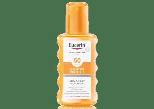 eucerin Sun Spray Transparent FP 50