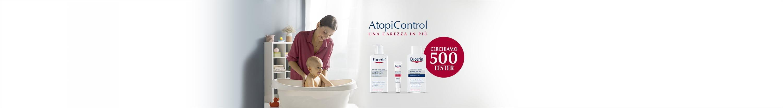AtopiControl diventa tester Eucerin