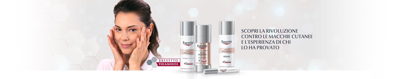 I prodotti per l'iperpigmentazione da Eucerin