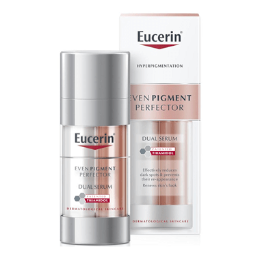 Even Pigment Perfector Dual Serum Thiamidol Middle East Eucerin Duo