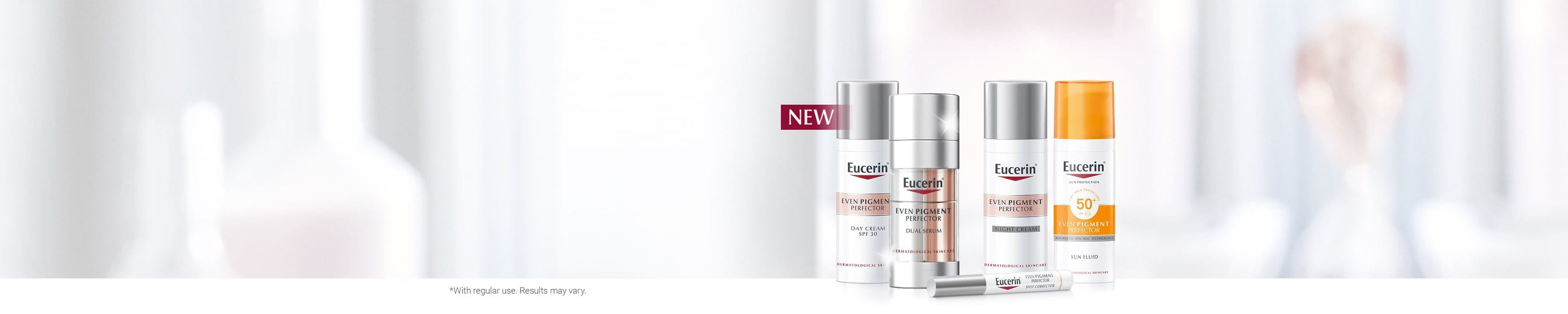Hyperpigmentation products from Eucerin