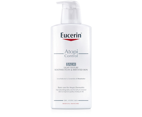 Bálsamo Ligeiro para eczema atópico da Eucerin 400 ml.