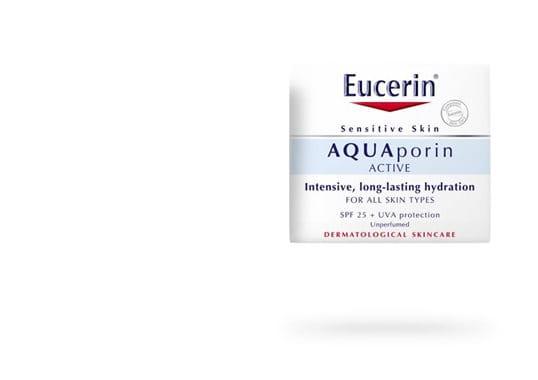 Eucerin AQUAporin ACTIVE med SPF 25 och UVA-skydd för alla hudtyper