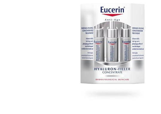 Eucerin HYALURON-Filler Concentrate -hoitotiiviste kuivalle iholle