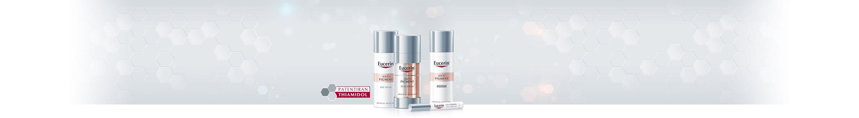 Izdelki Eucerin proti hiperpigmentaciji zmanjšajo temne madeže.