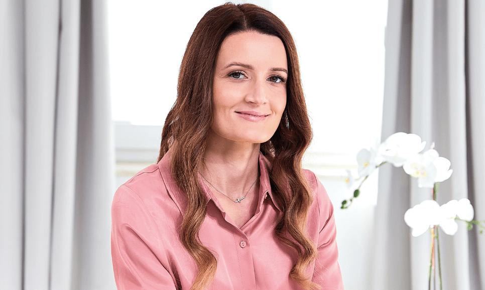 Sanja Lakner, strokovna sodelavka blagovne znamke Eucerin