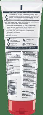 Baby Eczema Relief Cream 8oz Back