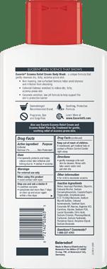 Eczema Relief Cream Body Wash Packshot Back